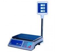 Весы Мидл МТ 15 МГДА 2/5 230х330 Витрина 4 электронные торговые со стойкой до 15 кг