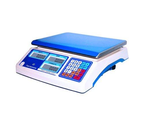 Весы МТ 30 МЖА 10/230х320 Гастроном электронные торговые без стойки до 30 кг