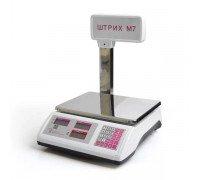 Весы Штрих-М7Т 30-5,10 А электронные торговые со стойкой до 30кг