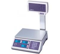 Весы CAS ER JR-15CBU электронные торговые со стойкой до 15кг