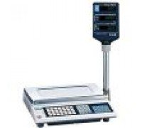 Весы CAS AP-30EX электронные торговые со стойкой до 30 кг