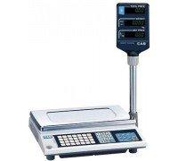 Весы CAS AP-15M BT электронные торговые со стойкой до 15 кг