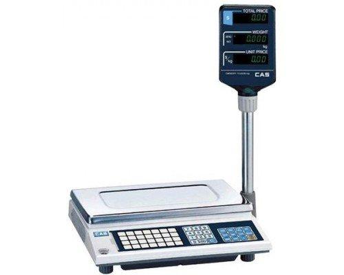 Весы CAS AP-6M BT электронные торговые со стойкой до 6 кг