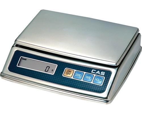 Весы CAS PW-2H электронные настольные до 2 кг