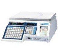 Весы CAS LP-30 v.1.6. электронные торговые с печатью этикеток без стойки