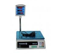 Весы Foodatlas ВТС-40 электронные торговые со стойкой до 40 кг