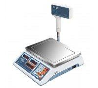 Весы M-ER 322ACPX-15.2 LED Ibby электронные торговые со стойкой до 15 кг