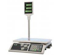 Весы M-ER 326ACP-32.5 LCD электронные торговые со стойкой до 15 кг