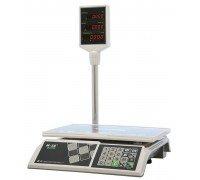 Весы M-ER 326ACP-32.5 LED электронные торговые со стойкой до 15 кг
