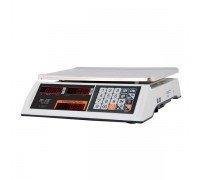 Весы M-ER 327-32.5 LED электронные торговые без стойки до 32 кг