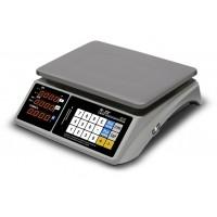 Весы M-ER 328AC-32.5 TOUCH-M электронные торговые без стойки до 32 кг