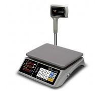 Весы M-ER 328ACPX-32.5 Touch-M RS232 и USB Lcd/Led торговые со стойкой