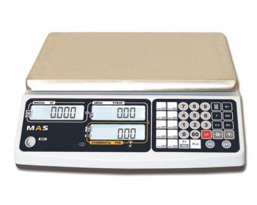 Весы MR1-15 электронные торговые без стойки до 15 кг