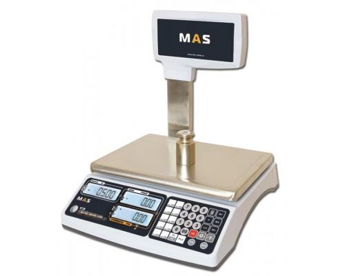 Весы MR1-15P электронные торговые со стойкой до 15 кг