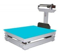 Весы механические ВТ 8908-1000 СУ до 1000 кг напольные увеличенная платформа