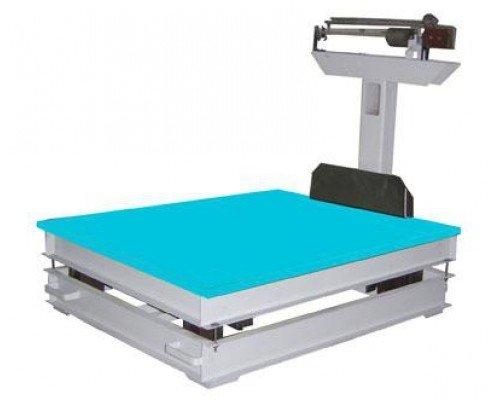Весы механические ВТ 8908-1000 СУ напольные до 1000 кг увеличенная платформа
