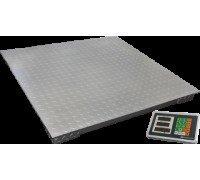 Весы ВЭТ-1-1000П-1С товарные платформенные до 1000 кг платформа 1200х1200/1000х1500 см