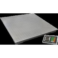 Весы ВЭТ-1-1000П-1С товарные платформенные до 1000 кг платформа 1200х1200 см