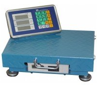 Весы ВЭТ-150-1С-Р беспроводные электронные с расчетом стоимости до 150 кг платформа 40*50 см