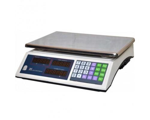 Весы ВР 4900-15-5ДБ-02 электронные торговые без стойки до 15 кг