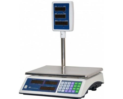 Весы ВР 4900-15-5САБ-01 электронные торговые со стойкой до 15 кг