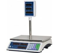 Весы ВР 4900-15-2Д-СДБ 01 электронные торговые со стойкой до 15кг