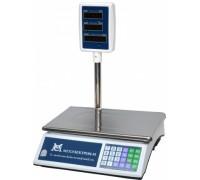Весы ВР 4900-15-2Д-СДБ 01М электронные торговые со стойкой до 15кг