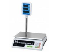 Весы ВР 4900-30-2Д-САБ 05 электронные торговые со стойкой до 30кг