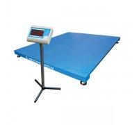 Весы ВСП4-А-6000 электронные платформенные напольные до 6000 кг