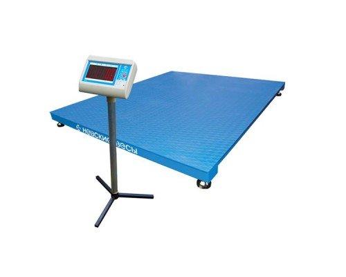 Весы ВСП4-А-1000 электронные платформенные напольные до 1000 кг