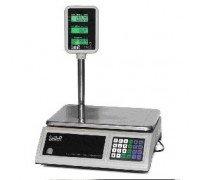 Весы Seller-15 SL-201P-15 LCD электронные торговые со стойкой до 15 кг