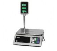 Весы Seller-30 SL-201P-30 LCD электронные торговые со стойкой до 30 кг