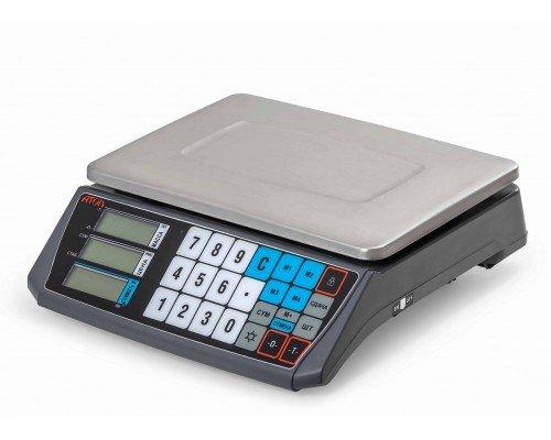 Весы Атол Marta торговые без стойки без подключения к пк до 30 кг