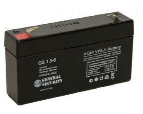 Аккумулятор 6V 1.3Ah для Элвес-микро-К, Элвес-МК, Меркурий-130К, Меркурий-115, Штрих-Мини-К