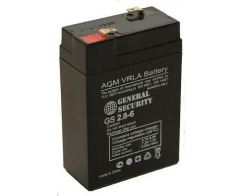 Аккумулятор 6V 2.8Ah для Орион-100К и Меркурий-115К
