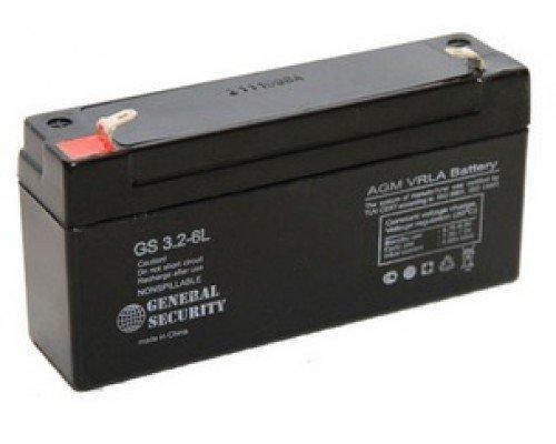 Аккумулятор 6V 3.2Ah для Меркурий-115К и Орион-100К
